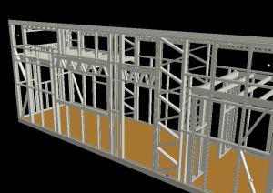 3D Frame Front