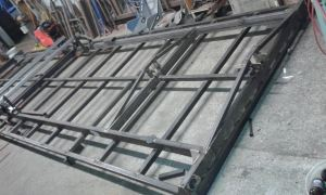 welded trailer